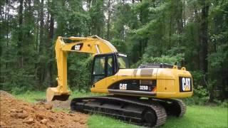 Charlies New 325D Excavator