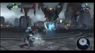 Darksiders Apocaliptica 100% Catedral del Crepusculo Batalla contra Tiamat