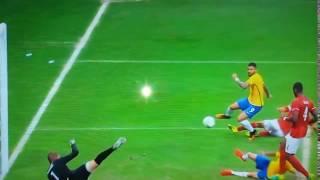 Gol de Gabriel Gabigol Brasil 1 x 0 Dinamarca Olimpíadas Rio 2016.