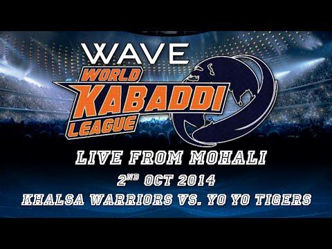 World Kabaddi League, Day 20: Khalsa Warriors Vs. Yo Yo Tigers