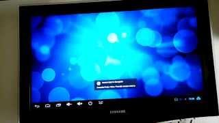 Android TV - XBMC voice commands test.