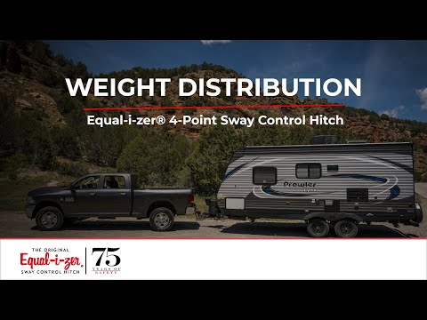 Weight Distribution -- Equal-i-zer® 4-Point Sway Control™ Trailer Hitch