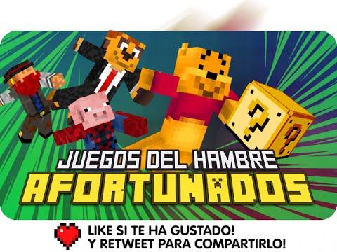 JUEGOS DEL HAMBRE AFORTUNADOS | Minecraft con Exo, Macundra, Sarinha y Luh