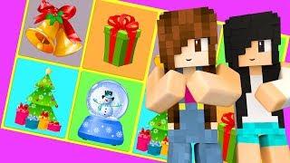 JOGO DA MEMÓRIA DE NATAL (Minecraft Minigames)