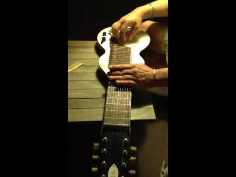 Eddie Alkire Eharp tuning and chords