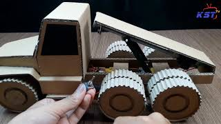 TOP 3 Unique Creation from Cardboard with Toys for Kids