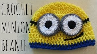 Minion Beanie | Crochet Pattern | Character Creation Tutorial