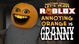 Annoying Orange is GRANNY! [Roblox]