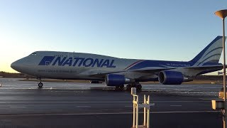 4K | National Airlines Boeing 747-428BCF at Tampere-Pirkkala Airport