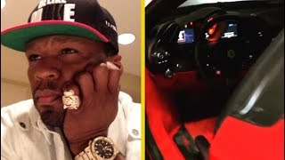 50 Cent's Brand New Ferrari Wouldn't Start!