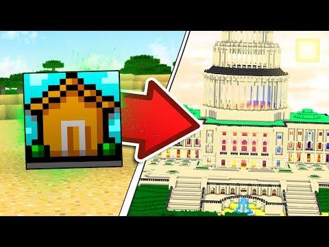 TURN ONE BLOCK INTO AN ENTIRE MINECRAFT MANSION | Minecraft Mods