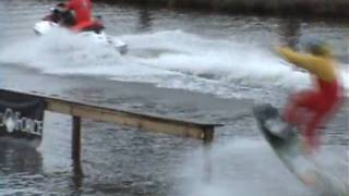 Halloween Wakeboard Rail Jam