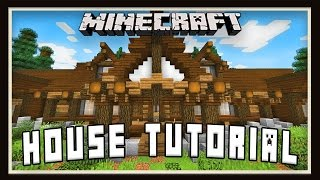 Minecraft Tutorial:  How To Build A House -  Rustic Design Details - part 2