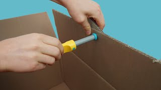 Makedo Cardboard Construction in 30 seconds