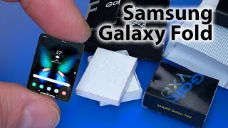 DIY How to make Samsung Galaxy Fold | Unboxing Dollhouse Crafts and Hacks