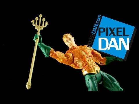 Mattel DC Comics Unlimited New 52 Aquaman Figure Video Review