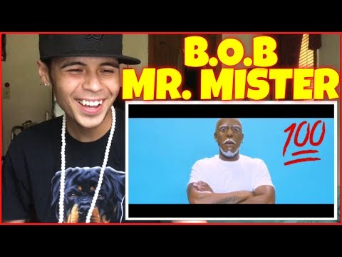 B.o.B - Mr. Mister (Official Video)   Reaction Therapy