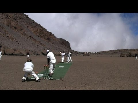 New cricket match altitude record set on roof of Africa
