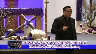 Tinh Tam Mua Chay 2019 Hãy Di Va Dung Pham Toi Nua LM Mattheu Nguyen Khac Hy Phan 1