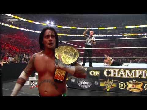 Jeff Hardy vs. CM Punk - World Heavyweight Championship Match: Night of Champions July 26, 2009