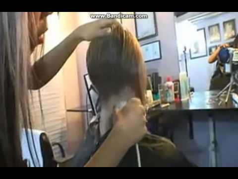 Shaved Nape Haircuts for Women