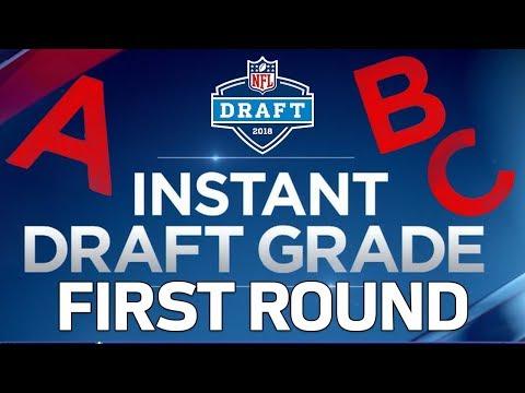 1st Round 2018 NFL Draft Grades  Bucky Brooks  NFL