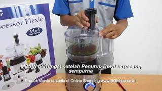 Vienta - Tips Cara Penggunaan Bowl Vienta Food Processor Flexie