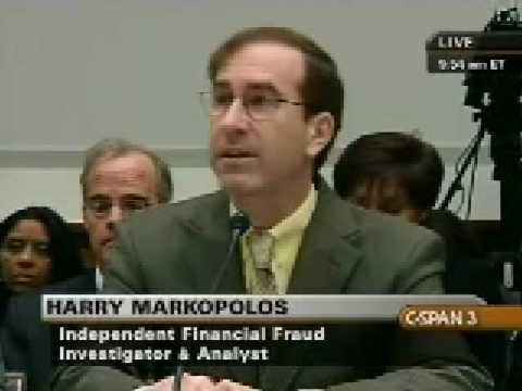 Markopolos: I gift wrapped and delivered the largest Ponzi scheme in history to the SEC