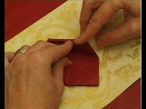 Karácsonyi papír csillag készítés, origami