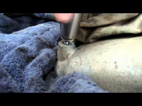 how to remove a broken stud/bolt with an arc welder