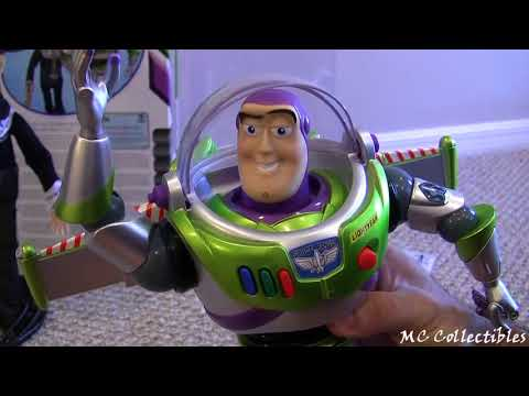 Talking Buzz Lightyear Limited Edition Action Figure Toy Story Disney Pixar review Blucollection