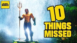 Aquaman Extended Trailer Breakdown - Easter Eggs & Things Missed
