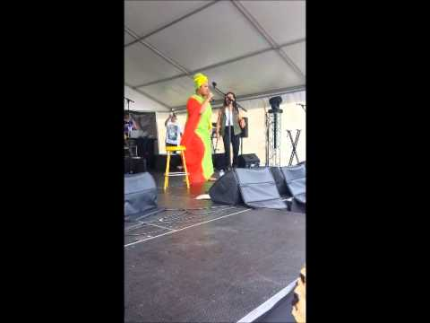 ASHLEY TONGA PROUD MARY + BACKFLIP at STIR IT UP SYD ft Akosita 2014