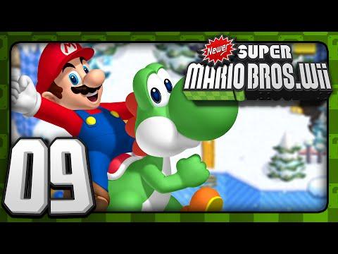 Newer Super Mario Bros Wii - Co-Op - World 5 (1/2)