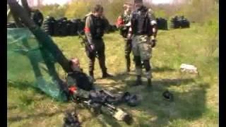 VIII. SWAT Paintball Scenario Pápán (Hungary) D-Day... part 1