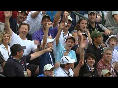 Lee Westwood Gets Gift From Golf Gods - Rd. 1 2013 U.S. Open
