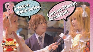 TRUTH about work in ANIME/MANGA in JAPAN: Japanese cosplayers give their honest opinions
