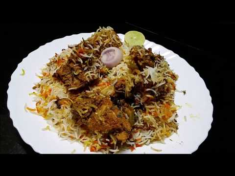 Chicken Dum Biryani - Hyderabadi Chicken Dum Biryani / Restaurant Style Chicken Dum Biryani Recipe