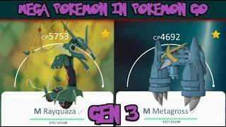 All Mega Pokemon In Pokemon Go Gen 3