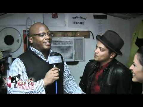 Bruno Mars interview: XL'ENT Xmas