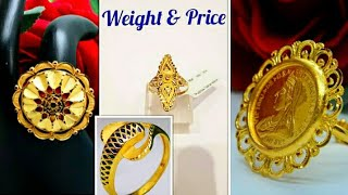 ladies ring design with price // fancy ring designs with price // gold ring price 2019