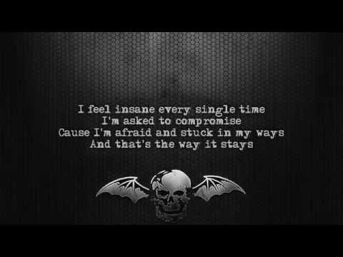 Avenged Sevenfold - Almost Easy [Lyrics on screen] [Full HD]