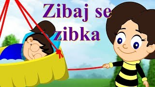Zibaj se zibka | Uspavanke za otroke | Rock-a-bye Baby in Slovenian