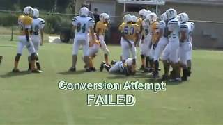 2013-14 MIDDLE SCHOOL FOOTBALL : RAA RAMS vs. DEERLAKE (JAMBOREE - Leon County - Tallahassee, FL)