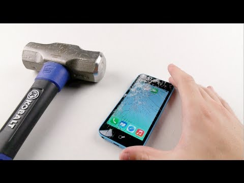 iPhone 5C Hammer Smash Test - Stronger Than 5S?