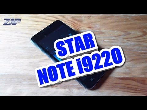Star Note i9220 Android ICS DUALSIM Phone Review - MT6575 GPS 5.1
