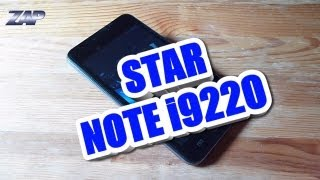 Star Note i9220 Android ICS DUALSIM Phone Review - MT6575 GPS 5.1 Merimobiles - ColonelZap