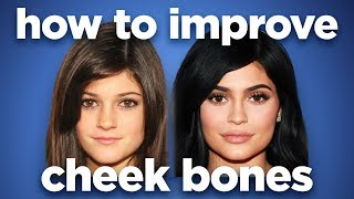 How to improve cheek bones