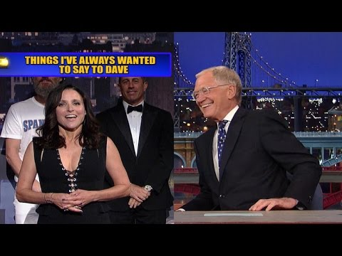 Julia Louis-Dreyfus Wins Letterman's Final Top Ten List With 'Seinfeld' Dig