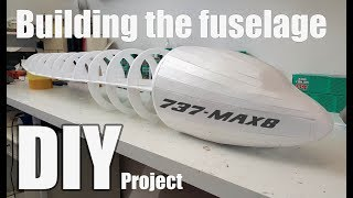 Boeing 737 MAX-8 RC airplane DIY project P-1